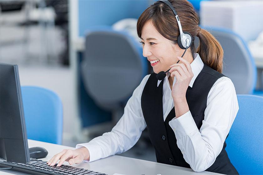 大至急コールセンターを立ち上げる必要があり、採用が追いつかない